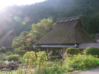 美山にあるかやぶきの里へ!京都の秘境で楽しむデートは◎!