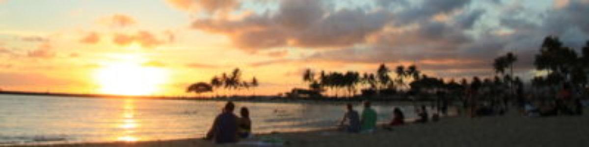ハワイ/オアフ島 サンセット